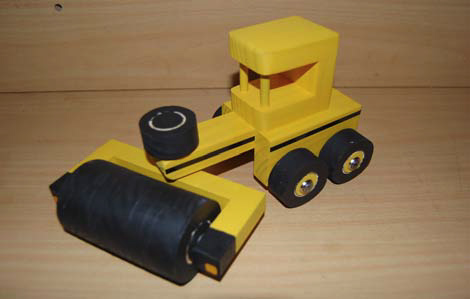 Construction Vehicle Roller