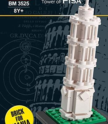 Learning Tower of Pisa Mini Block Kit Set