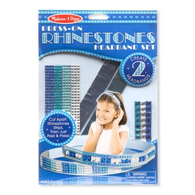 Press-On Rhinestones Headband