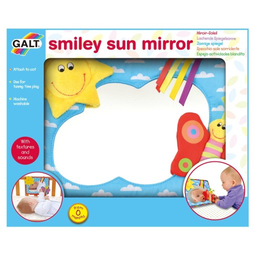 Smiley Sun Mirror 4 - Galt