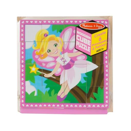Princess and Fairy Cube Puzzle