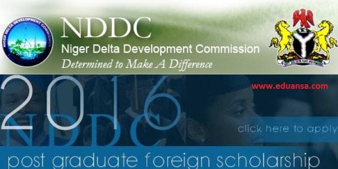 NDDC Postgraduate Oversea Scholarship