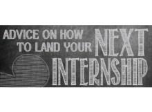 Internship advice