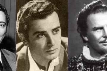 Franco Corelli, Giuseppe Giacomini y Mario del Mónaco