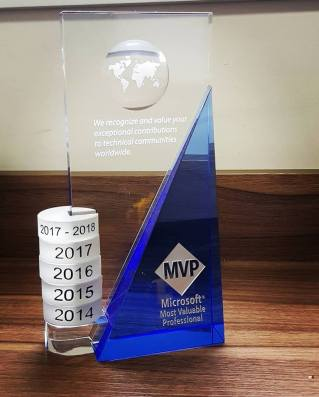 Microsoft MVP 2017 - 2018