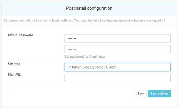 """6.3 Informe a senha do usuário """"Admin"""" para concluir o processo"""
