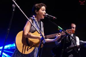 Natalia Lafourcade durante un concierto en el estado de Sonora, México, a inicios de este año. (Foto cortesía Darshan/www.facebook.com/NataliaLafourcadeMx)