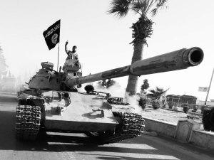 Los islamistas del estado de ISIS utilizan armamento tomado al ejército de Irak, de procedencia estadounidense. (Internet)