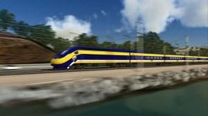 Imagen del Tren Rápido (Cortesía facebook.com/CaliforniaHighSpeedRail)