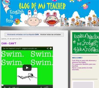 Blog de mi teacher. English is fun