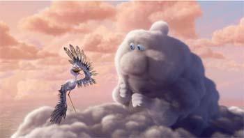 corto de animación La pobre cigüeña