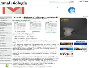 canal biología