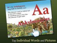 Alphabet Dinosaurs app
