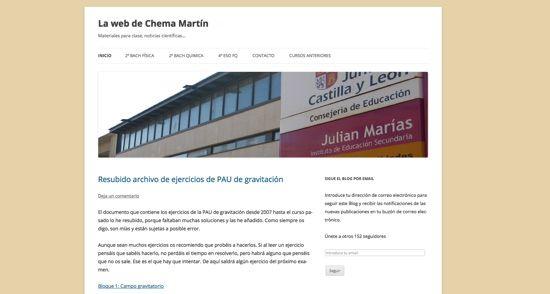 La web de Chema Martín