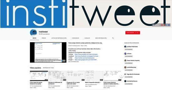 Recursos para Física Institweet