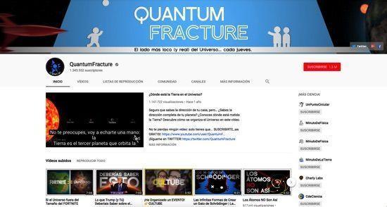 Recursos para la asignatura de física en Youtube
