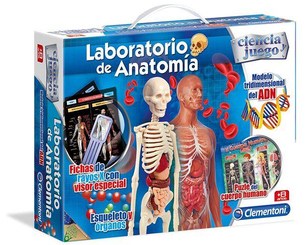 laboratorio anatomía juego mesa