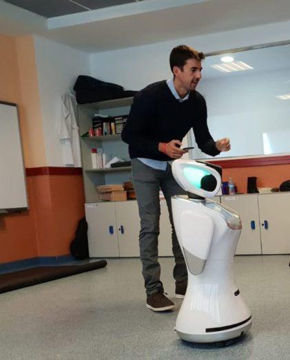 Jorge Calvo enseñar Inteligencia Artificial