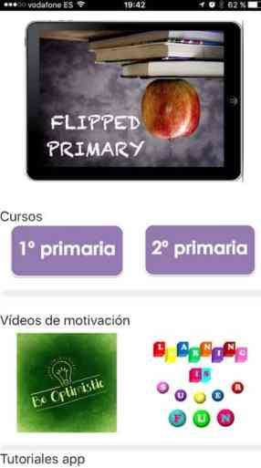Flipped Primary para docentes, familias y estudiants