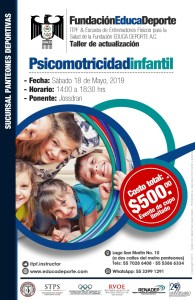 Psicomotricidad Infantil @ Panteones Deportivas
