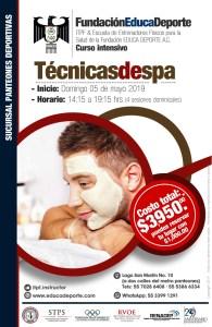 Curso Intensivo Técnicas de SPA @ Panteones Deportivas