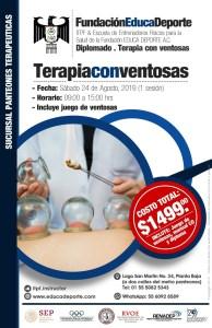 Diplomado Terapia con Ventosas (1 Sesión) @ Panteones Terapéuticas