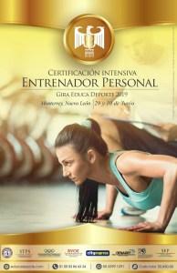 Certificación Entrenador Personal @ Monterreyn Nuevo León