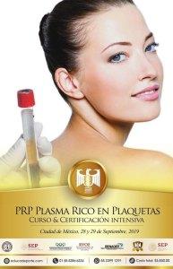 Certificación  P.R.P. - CURSO @ Panteones Terapéuticas
