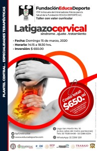 Taller Latigazo Cervical
