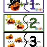 Actividades imprimibles para Halloween