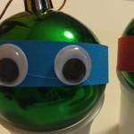 Día 1: tortugas ninja navideñas