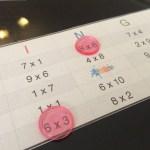 El bingo de las tablas