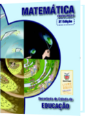 capa do livro de matemática