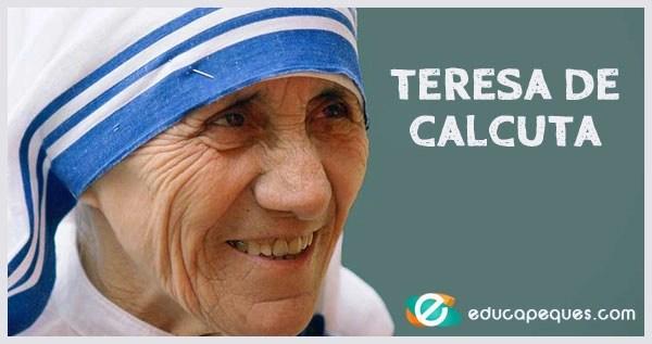 Teresa De Calcuta La Misionera De Los Pobres