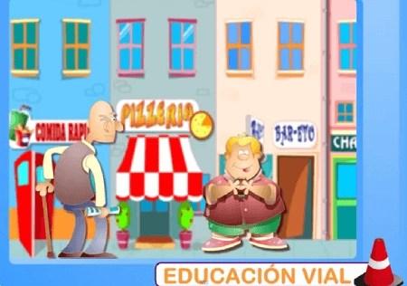 educación vial, seguridad vial, las señales, tipos de vehículos, seguridad niños, vídeos educativos