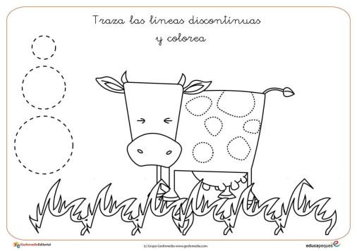 grafomotricidad vaca