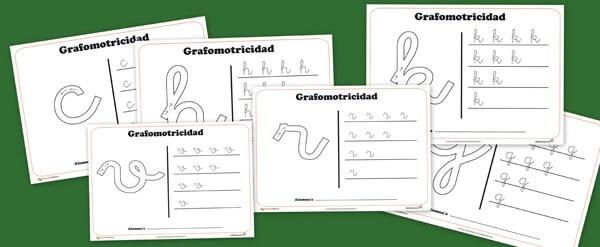 grafomotricidad, consonantes, abecedario, lectoescritura