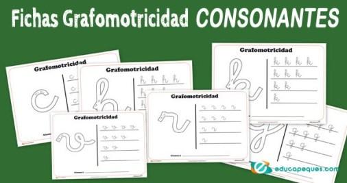 Grafomotricidad consonantes