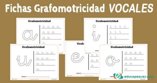 grafomotricidad vocales