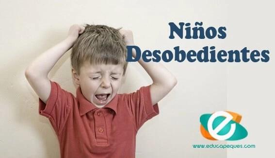 niños desobedientes