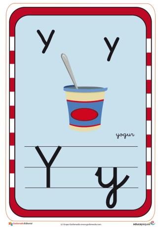 abecedario en color y