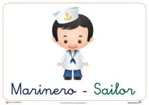 Fichas de las profesiones el marinero