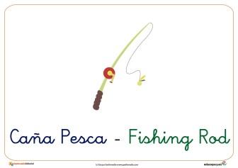 caña pesca ficha verano