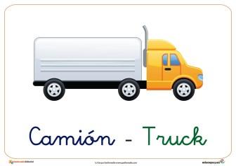 camion ficha transporte