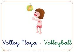 volley ficha verano