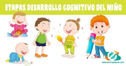 desarrollo cognitivo del niño