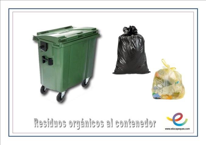 Recicla residuos organicos