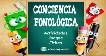 conciencia fonológica, actividades conciencia fonológica, ejercicios conciencia fonológica