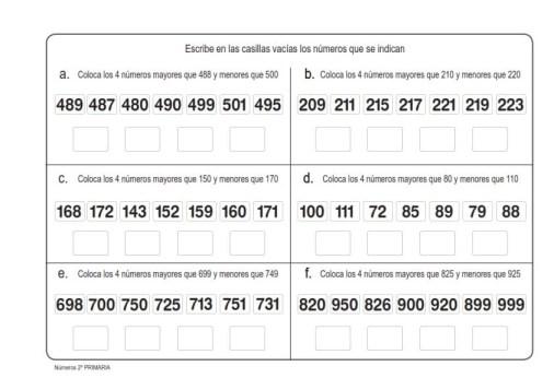 ejercicios de matemáticas 10