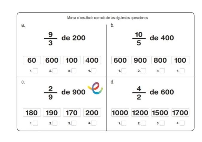 ejercicios de matemáticas 12